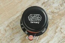Leitz Elmar 3.5/50 mm M39 Germany Lens Zeiss Eleitz Wetzlar (Fed COPY)