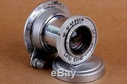 Leitz Elmar 3.5/50 mm RF M39 Lens LEICA Zeiss Eleitz Wetzlar Silver