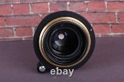 Leitz Elmar (3.5/50mm) Black RF Lens LEICA Carl Zeiss Eleitz Wetzlar EXC! M39