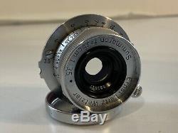 Leitz Elmar 35mm Summaron F 3.5 for Leica 3.5cm