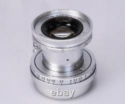 Leitz Elmar 50mm f2.8 LTM f. Leica LTM M cameras from JAPAN #017952