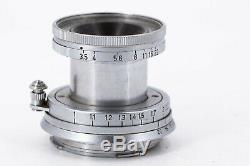 Leitz Elmar 5cm 3.5 50mm F3.5 50/3.5 Elmar Leica M (m2 m3) READ