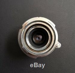 Leitz Elmar 5cm F3.5 lens (with Leica M mount adaptor)