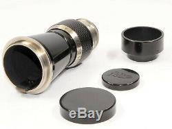 Leitz Elmar 6.3/10,5cm schwarz/nickel Berg Elmar for M39 screw mount