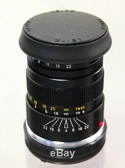 Leitz Elmar-C 14/90 für Leica M und CL Objektiv Lens 32436