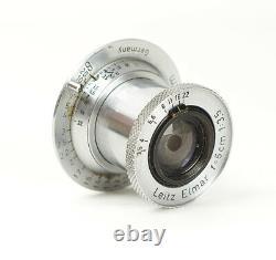 Leitz Elmar Chrome 3.5/5cm f/3.5 5cm LTM Mount M39 No. 710740 READ DESCRIPTION