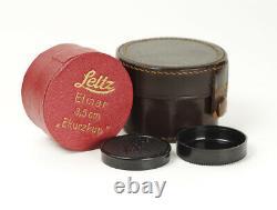 Leitz Elmar Nickel Ekurzkup 3.5/35mm f/3.5 Early M39 LTM Mount Boxed No. 171930