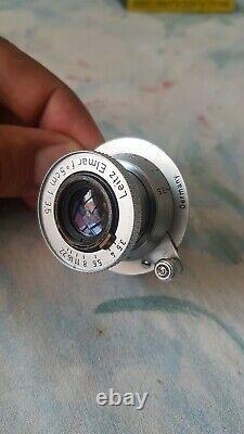 Leitz LEICA ELMAR 3,5/5cm Germany Red Scale Lens M39