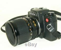 Leitz LEICA R7, VARIO-ELMAR-R 3,5-4,5/28-70mm. Lens+motor