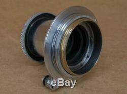 Leitz Leica 50mm 13.5 Elmar Lens 1937
