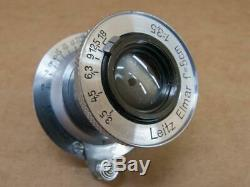 Leitz Leica 50mm 13.5 Elmar Lens uncoated 1937