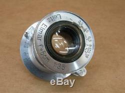 Leitz Leica 50mm 13.5 Elmar Lens uncoated 1938