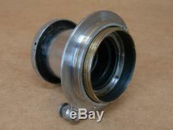 Leitz Leica 50mm 13.5 Unnumbered Elmar Lens circa 1932