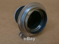 Leitz Leica 5cm 13.5 Elmar Red Scale Lens 1934