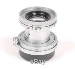 Leitz/Leica 5cm (50mm) F2.8 Elmar M39 ScrewMount Lens Nice/Please Read