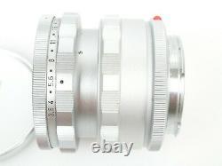 Leitz Leica ELMAR 3,5/65 sehr späte late Nr. 2288857 + Uni Schnecke 16464k Top