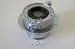 Leitz Leica ELMAR 50mm f3.5 Screw Prime Lens Made in 1949