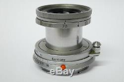 Leitz / Leica Elmar 2,8 / 50 mm M Objektiv 1820353