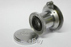 Leitz / Leica Elmar 3,5 / 5 cm M39 Objektiv 1122306 für Schraub Leicas