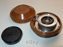 Leitz Leica Elmar 3,5 cm aus 1940 Top + Seltene Version! Kriegsvariante