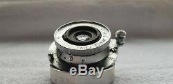 Leitz Leica Elmar 3.5cm f3.5 Lens M39 Excellent