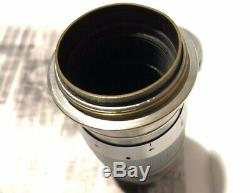 Leitz Leica Elmar 4 9cm 90mm ALL CHROME rare M39 lens adapt M Sony A7 A7r
