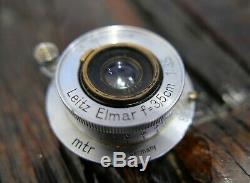 Leitz Leica Elmar 50mm F/3,5 M39 LTM Kompakt 605683 Leica Store Nürnberg