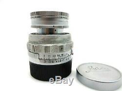 Leitz Leica Elmar 9 cm f4 No 1491074 M mount jr036