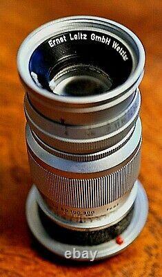 Leitz Leica Elmar 90mm F/4 M-Mount, 39mm filter size, Wetzlar, circa 1954