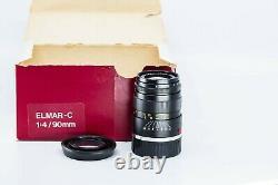 Leitz Leica Elmar C M 90mm f/4.0 lens Exc++