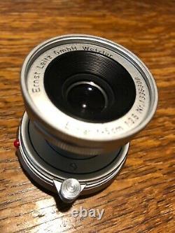 Leitz Leica Elmar-M 3,5 50mm 5cm Objektiv, besser als 2,8 er, M2 M3 M4 M6 M9 M10