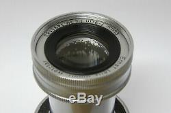 Leitz / Leica Elmar M 4,0 / 9 cm Objektiv Made in Germany 1491183 versenkbar
