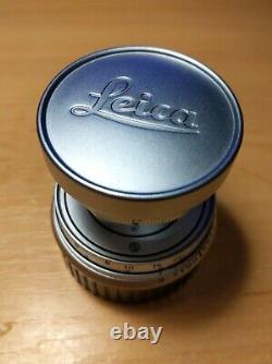 Leitz Leica Elmar f=5cm 50mm f/2.8 M-mount