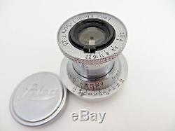 Leitz Leica Elmar red scale M39 LTM 50 f3,5 1087082 5cm F3,5 FEET ld015
