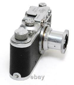 Leitz Leica II camera w. Elmar 3.5/5cm lens Screw Mount
