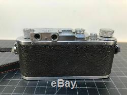 Leitz Leica III B DRP Vintage 35mm Camera Lens Elmar 13,5 f=5cm, Pre-War 1939