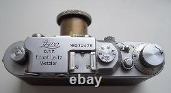 Leitz Leica IIIa Rangefinder Camera with Elmar 50 3.5 lens 1936