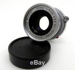Leitz Leica Lens Objektiv M mount ELMAR 1620369 5cm F2,8 jd064