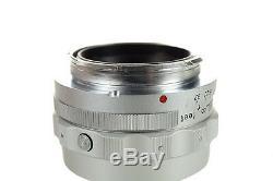 Leitz Leica M 9cm f4 Elmar collapsible Original 1950s German lens -Mint