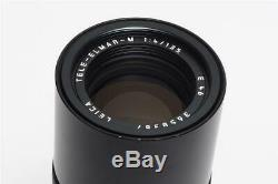 Leitz Leica M Tele-Elmar-M 4/135mm V2 11861 Black