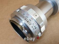 Leitz Leica M mount Collapsible 90mm 14 Elmar 1956 ILNOO / 11631
