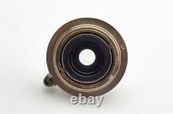 Leitz Leica M39 Elmar 3.5/3.5cm 35mm Nickel #160724