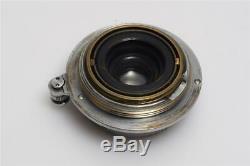 Leitz Leica M39 Elmar 3.5/3.5cm Chrome