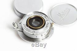 Leitz Leica M39 Elmar 3,5/3,5cm Chrome 3,5/35 GERMANY Lens