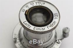 Leitz Leica M39 Elmar 3.5/5cm Luftwaffen-Eigentum #547925