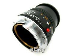 Leitz Leica Macro Elmar M black 90 mm f4 4175112 jq011