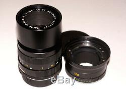 Leitz Leica Macro-Elmar-R 100 mm F4 14/100 3-Cam 3 CAM Made in Germany