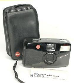 Leitz Leica Mini Zoom 35mm Compact Camera Vario Elmar 35-70 mm Lens (4411BL)
