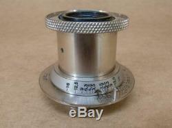 Leitz Leica Nickel 50mm 13.5 Elmar Lens 1932