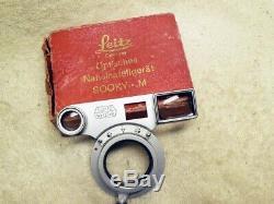 Leitz Leica SOOKY-M Close Focus Attachment for Summicron/Elmar 5cm lens on M3